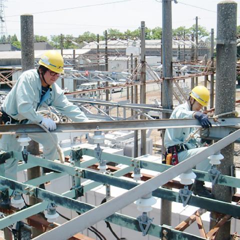 小矢部川第一発電所 コンデンサ形計器用変圧器更新等工事