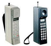 初期の携帯電話(NTTドコモ歴史展示スクエア).jpg