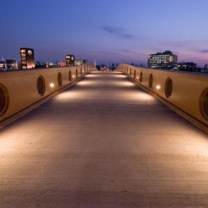 富岩運河環水公園整備照明設備工事 2