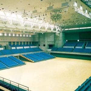 新富山市総合体育館新築電気設備工事 1