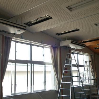 東部中学校外8校特別教室エアコン設置に伴う電気設備工事