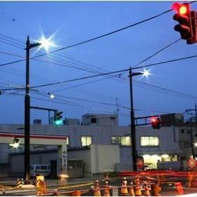 都市計画道路呉羽町袋線街路総合交付金(富山大橋)道路照明その1 工事