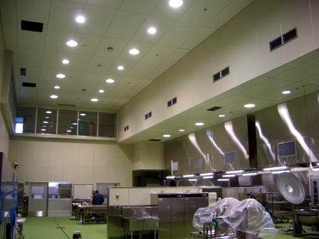 富山市北学校給食センター移転改築電気設備工事 1