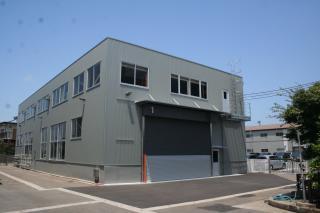 第一倉庫の改修