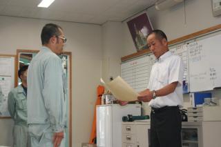 R2年度 建設業労働災害防止協会富山県支部長表彰